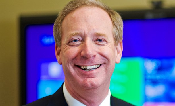 Microsoft chief legal officer Brad Smith