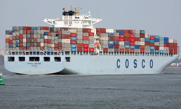 Slaughters and Paul Hastings lead on China shipping giant's