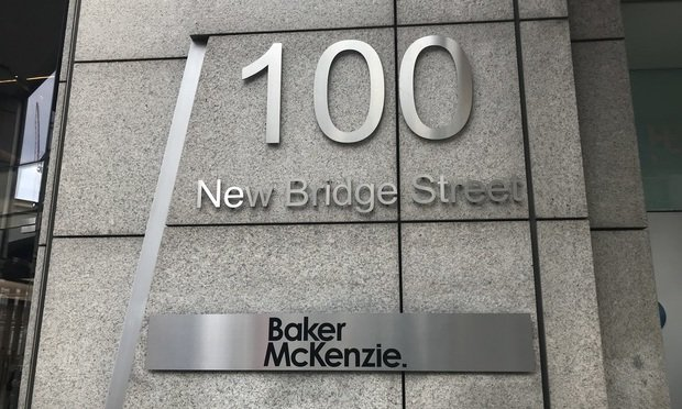 baker mckenzie london office