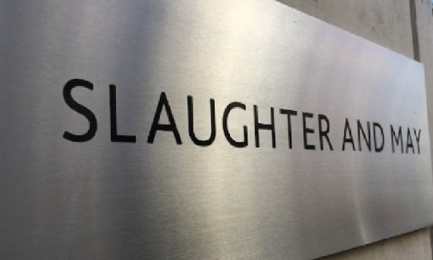 Slaughter and May sign