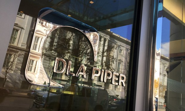 DLA Piper Office Sign