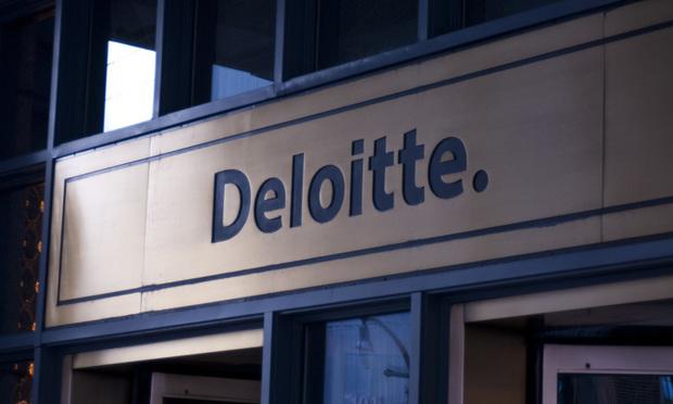 Deloitte sign
