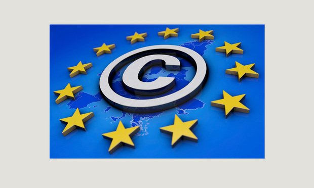 illustration of EU copyright law