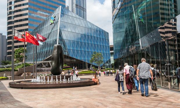 Exchange Square in Hong Kong