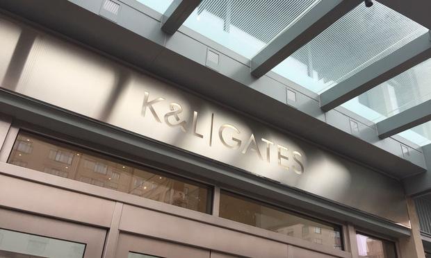 K&L Gates sign