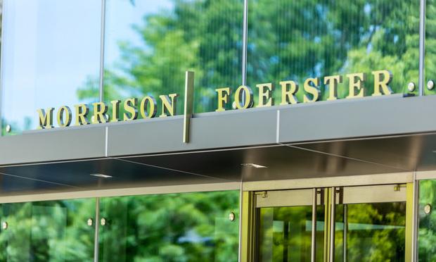 Morrison Foerster sign