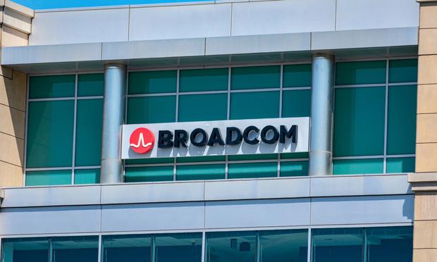 Broadcom sign
