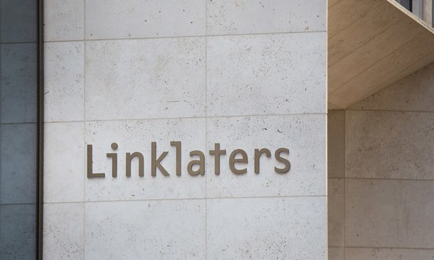 Linklaters sign
