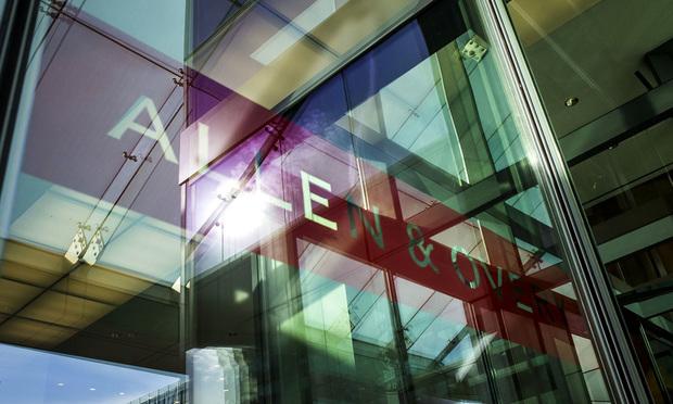Allen & Overy sign