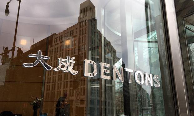 Dentons sign