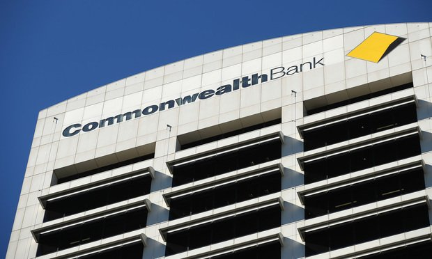 Signage for Commonwealth Bank of Australia