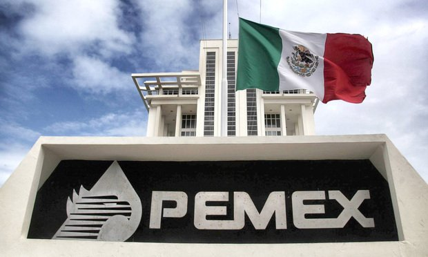 Pemex signage