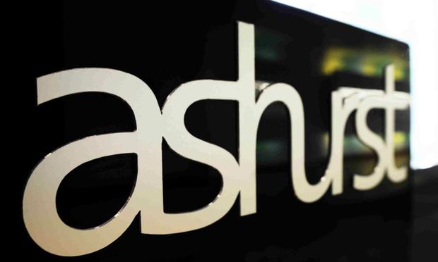 Ashurst sign