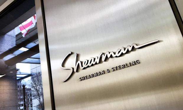 Shearman & Sterling signage