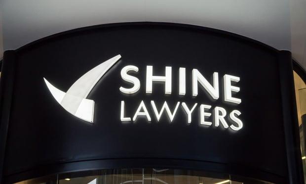 Shine Lawyers signage