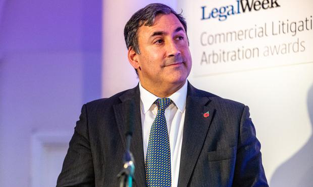 Michael Isaacs, director of legal – litigation at BT