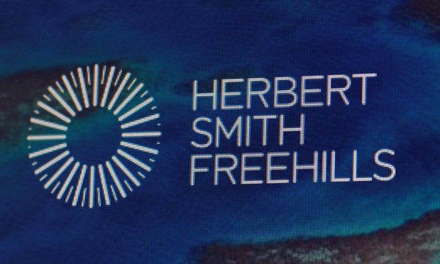 Herbert Smith Freehills sign