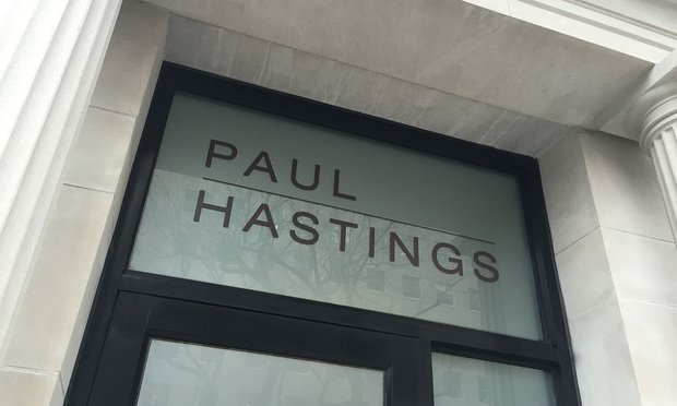 Paul Hastings sign