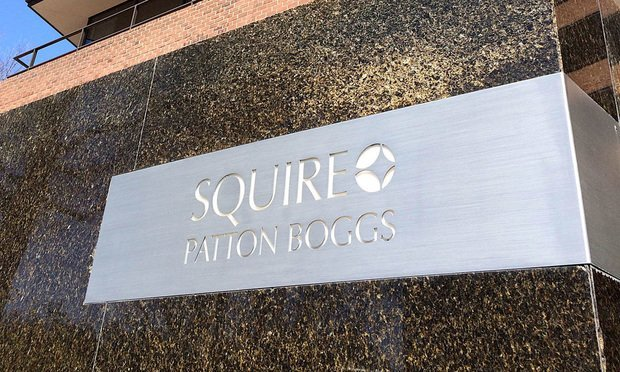 Squire Patton Boggs signage