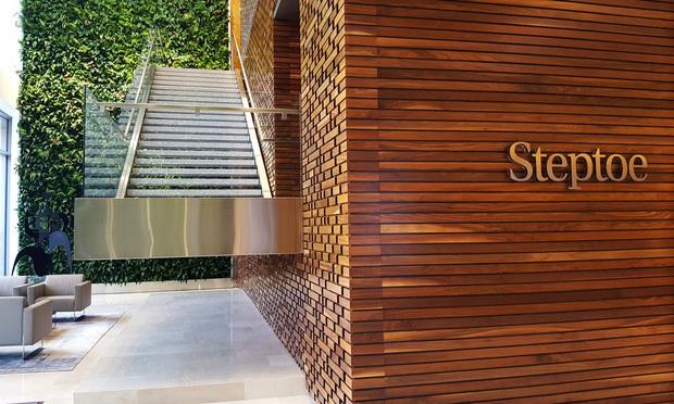 Steptoe signage