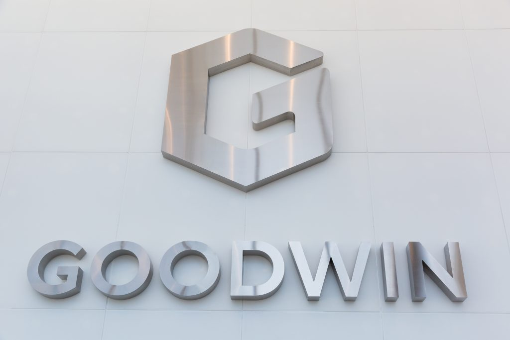 Goodwin Procter sign