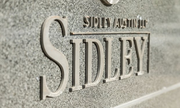 Sidley Austin Signage