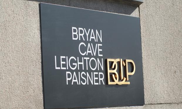 Brian Cave Leighton Paisner sign