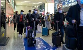 Coronavirus Fears Prompt Paul Weiss to Restrict Travel; Orrick Postpones Partner Retreat
