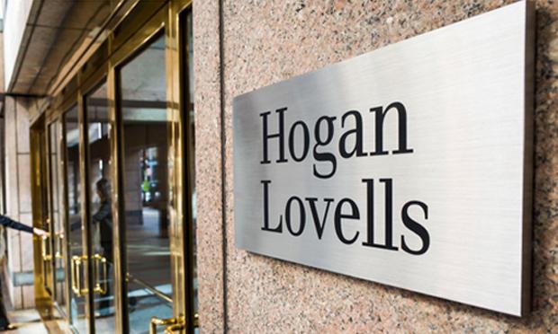 Hogan Lovells signage