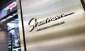 Shearman & Sterling Sees Revenue Inch Up as Focus Turns to U S Business