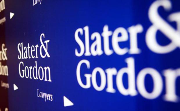 Slater & Gordon signage