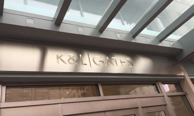 K&L Gates signage