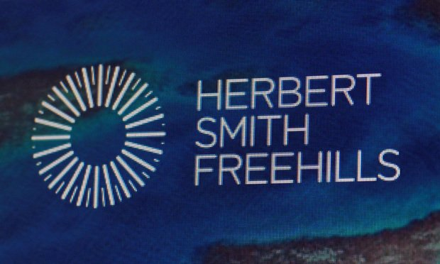 Herbert Smith Freehills signage
