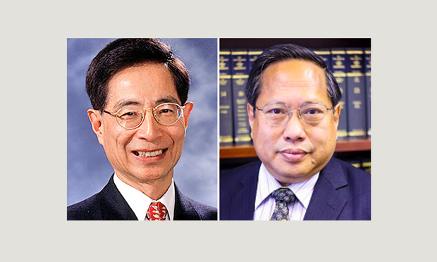 Martin Lee and Albert Ho