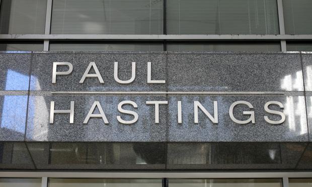 Paul Hastings signage
