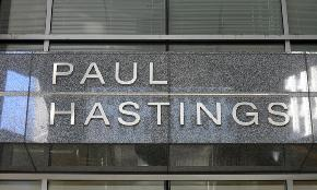 Paul Hastings Recruits Back China Focused Litigation Partner