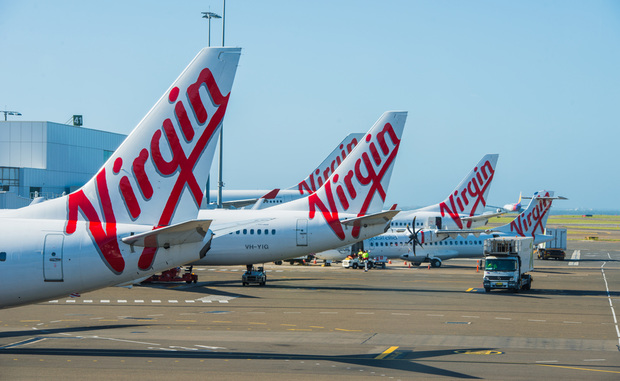 Virgin airlines planes