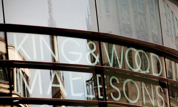 King & Wood Mallesons sign