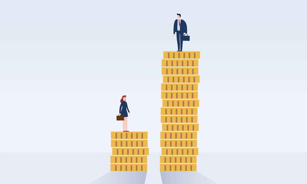 Pay inequality illustration
