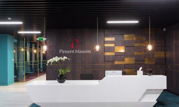 Pinsent Masons signage