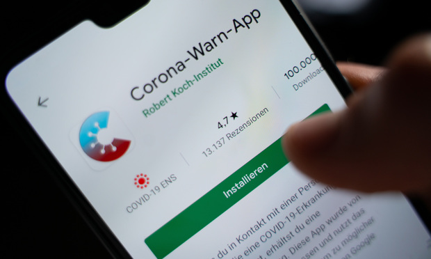 Germany's Corona Warn App, which is a COVID-19 tracing app, launched on June 16.