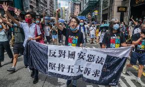 Hong Kong Lawyers Unsure of City's Future as Hostilities Between Beijing and Washington Escalate