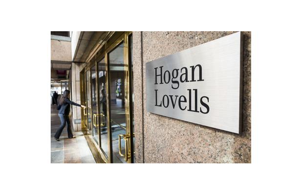 Hogan Lovells sign