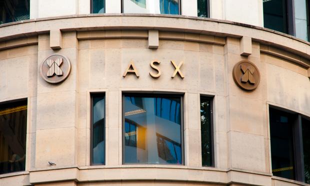 The Australian Securites Exchange building.