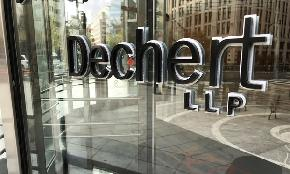 Dechert London Partner Race and Sex Discrimination Claim Ends