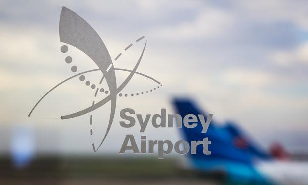 Sydney Airport sign