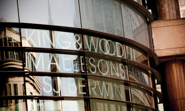 King & Wood Mallesons signage