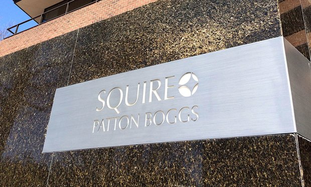 Squire Patton Boggs sign