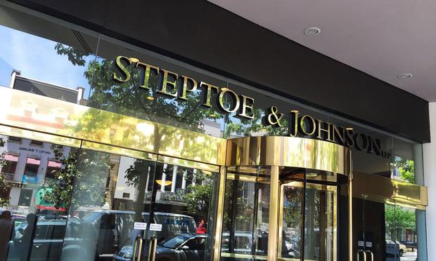 Steptoe & Johnson signage