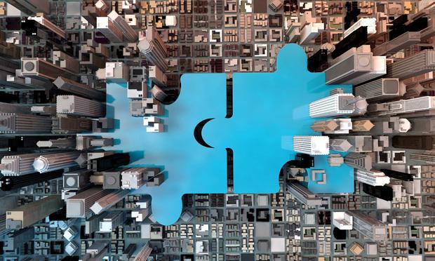 merging puzzle pieces